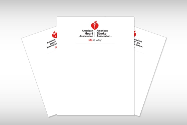 Flyer American Heart Association